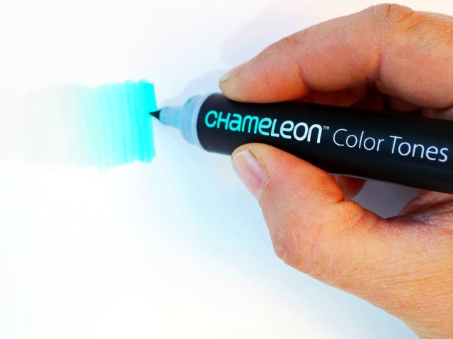 Produce Dozens of Shades from a Single Chameleon Marker
