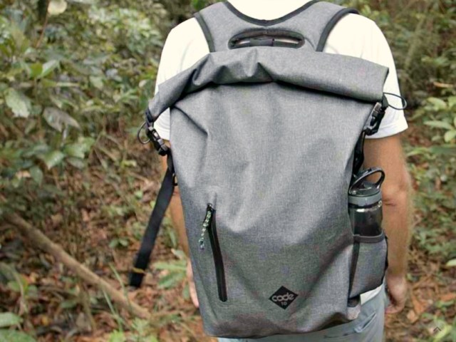 Code 10: The Theft-proof Backpack you can Leave Unattended