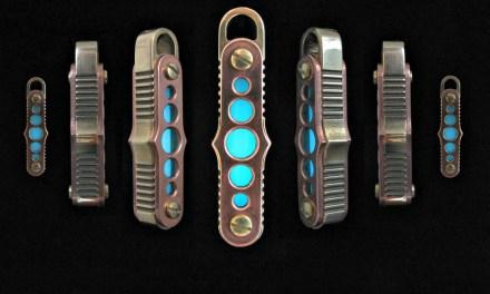 Gaslight Lantern Steampunk Keychain that Glows in the Dark