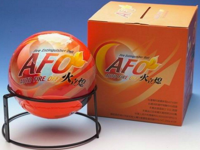 AFO Fireball is the Easiest Way to Put out a Fire