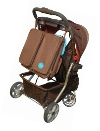 Mo+m 3 in 1 Convertible Diaper Bag
