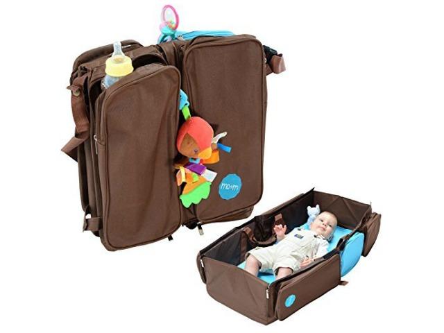 Mo+m 3 in 1 Convertible Diaper Bag: Most Practical Diaper Bag Ever
