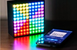 Customize your own Light Show on the Divoom AuraBox