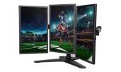 LOCTEK 3-LCD Monitor Stand