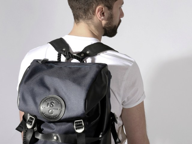 Stighlorgan Conn Backpack Pairs Stylish Looks with Ultimate Function