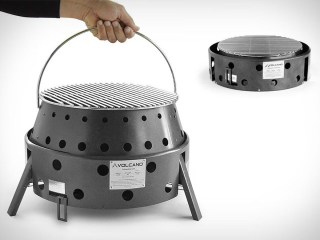 Volcano 3 is the Ultra Versatile 3-Fuel Grill