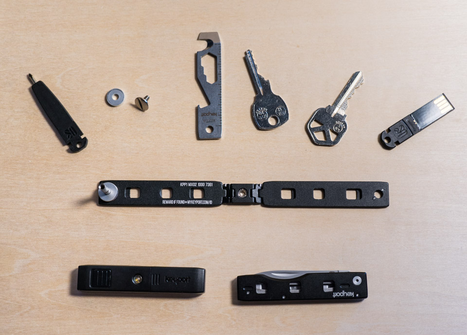 Keyport Pivot Combines Your Multitool With Your Keys