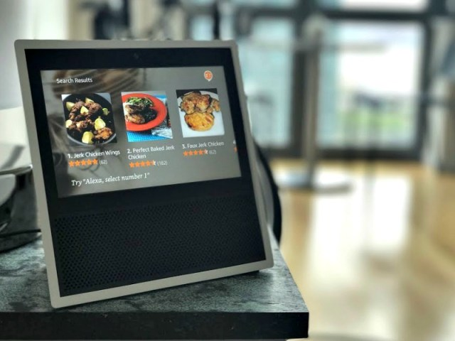4. Voice-Controlled Recipe Display