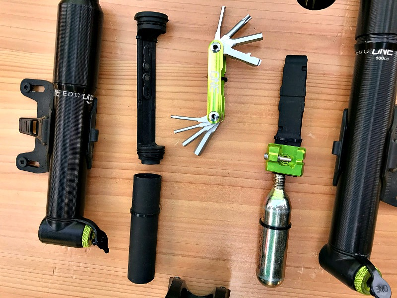 OneUp Components EDC Toolkit and Bike Pump Combo in One Sleek Package