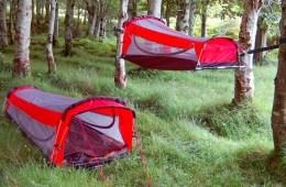 Crua Hybrid Combines a Tent, Hammock, Air Mattress and Sleeping Bag