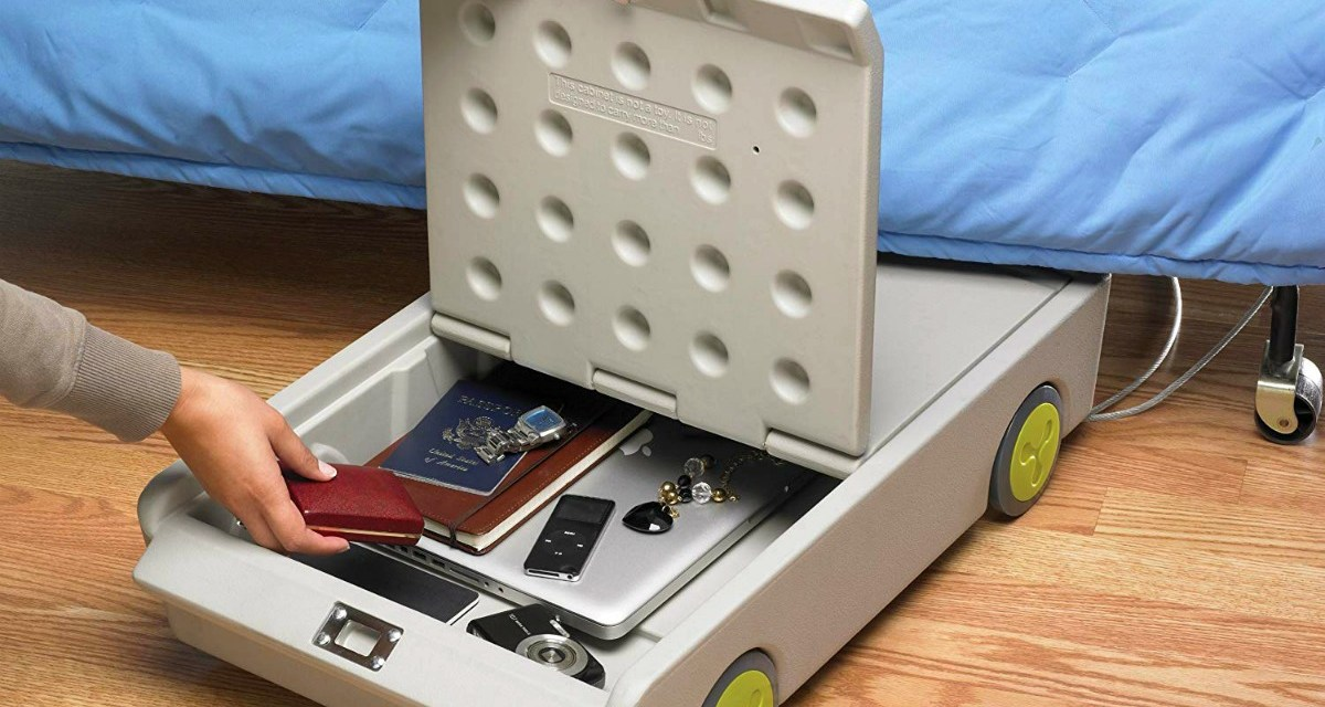 Lock and Roll Portable Under-Bed Personal Safe