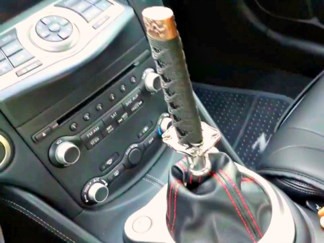Samurai Sword Shift Knob Cuts Driving Time in Half