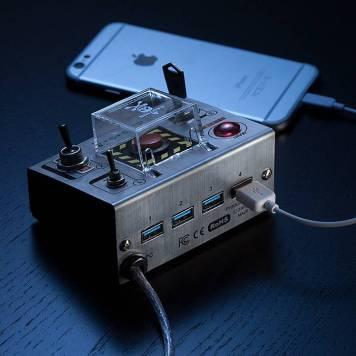 Self-Destruct USB Hub