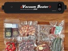 Vacuum Sealer Keeps Food Fresh Longer