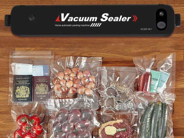 Vacuum Sealer Keeps Food Fresh Longer