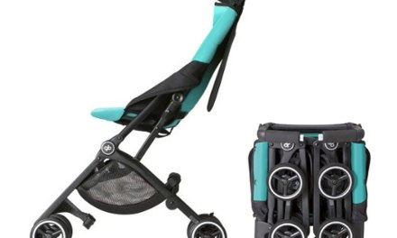 GB Pockit Record Breaking Stroller Fits in Diaper bag