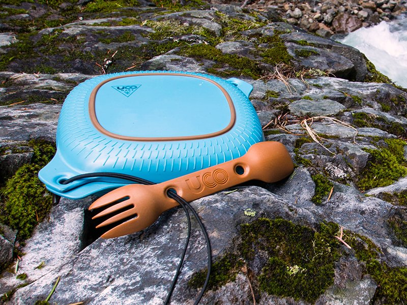 UCO 4-Piece Mess Kit Adds Color to your Outdoor Meals
