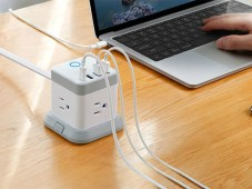 BESTEK Power Strip Stylish Cube Form Factor