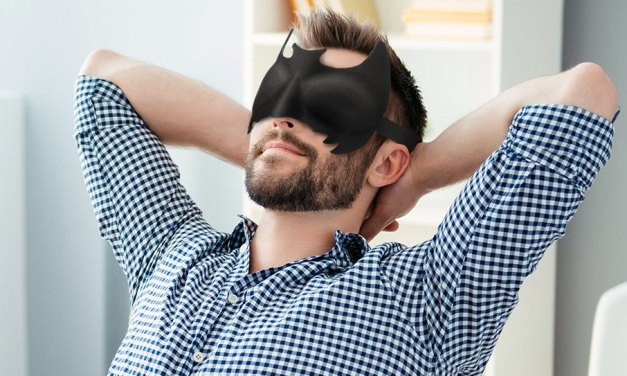 Batman Eye Mask – Sleep Like a Superhero