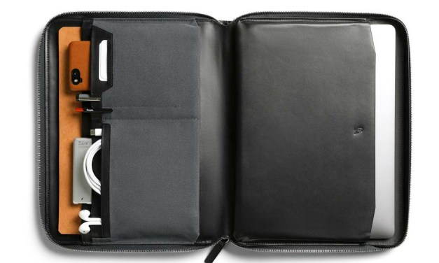 Bellroy Tech Folio Stores your Tech Toys with Style