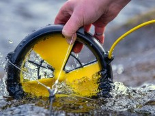 Waterlily Turbine Generates Electricity Using Water and Wind Power