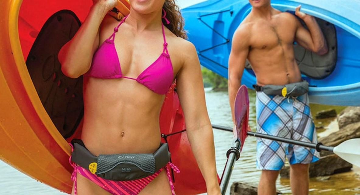Onyx M Series Belt Pack: Life Jacket in a Belt