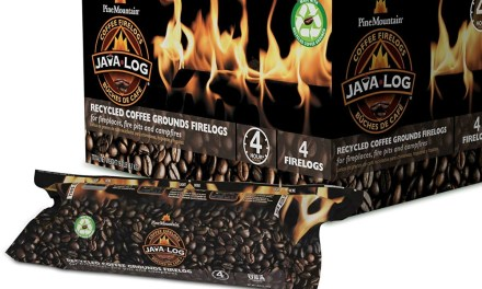 Java Log – Firelogs Made from Recycled Coffee Grounds