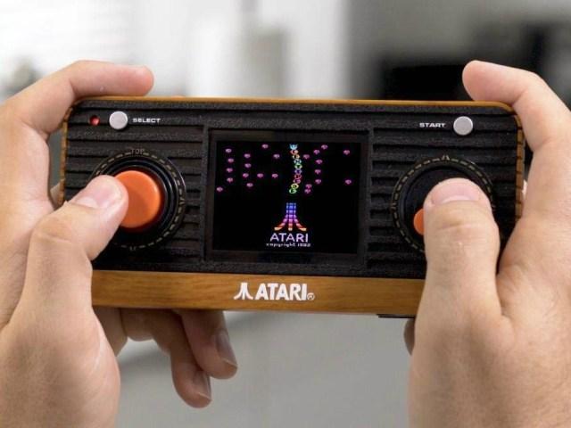 Atari Retro Handheld Console – A Classic Re-imagined