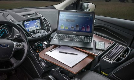 AutoExec Car Desk Turns your Car into your Office