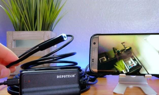 Wireless Endoscope Camera for Smartphones