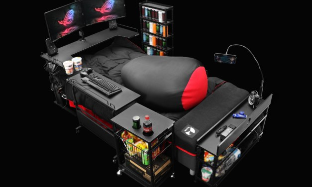 Ultimate Gaming Bed – Best Reason not to Leave your Bed