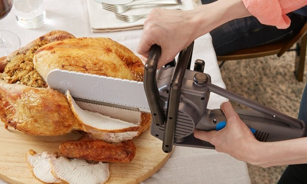 Mighty Carving Knife: Most Fun you'll ever have at the Dining Table