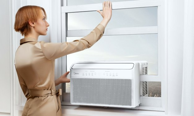 Midea U-Shaped AC is the Window AC Reinvented