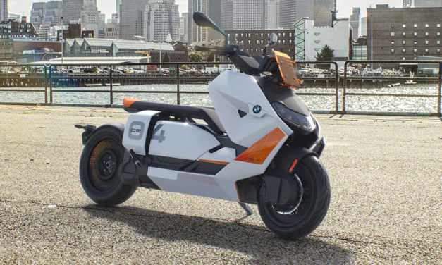BMW CE 04 Electric Scooter is the Vespa Clone on Steroids