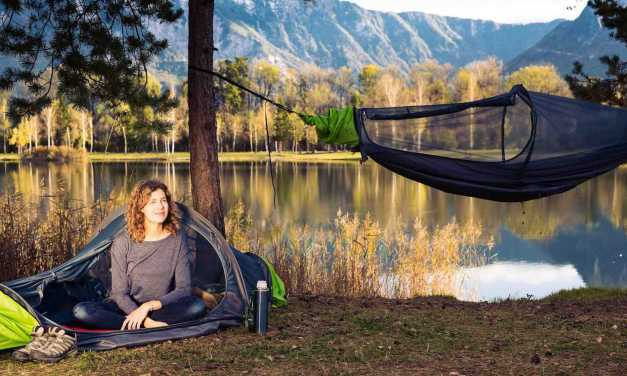 flying tent All-in-One Bivy Plus Hammock Tent