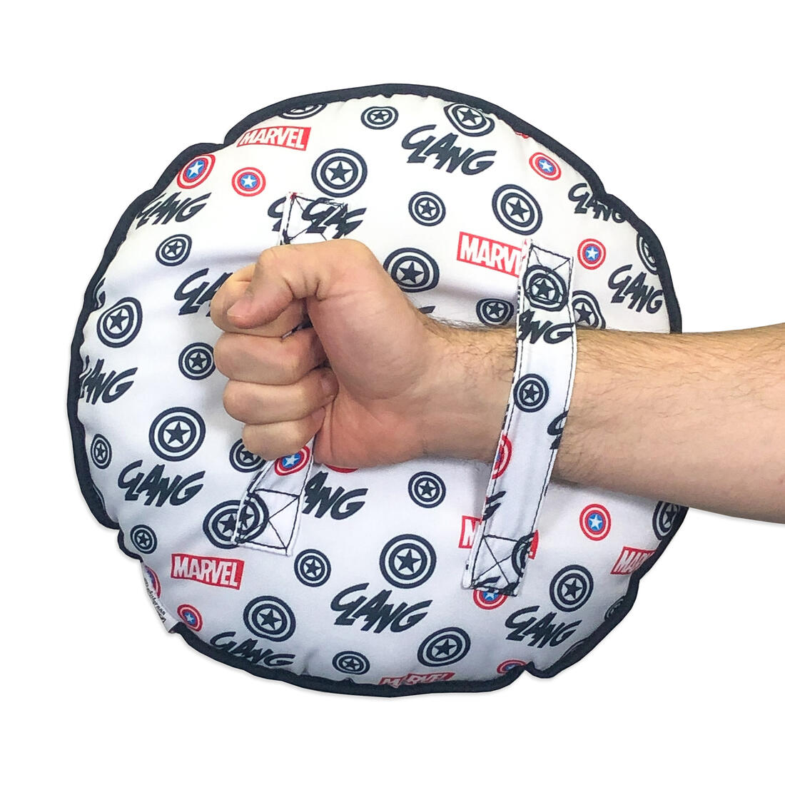marvel captain america shield pillow with straps