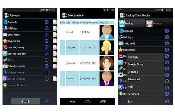 Резервное копирование вашего мобильного приложения для Android