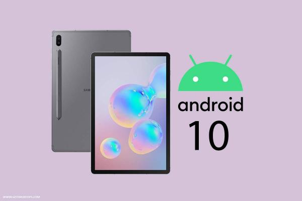 Official Samsung Galaxy Tab S6 Android 10 release date and ...
