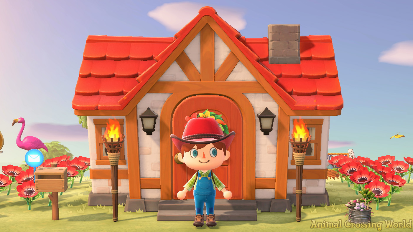 Animal Crossing: New Horizons - How to Move Your Mailbox? on Animal Crossing New Horizons Bedroom Ideas  id=33612