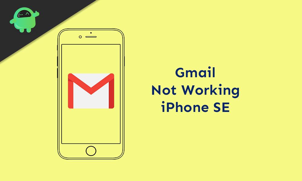Исправить Gmail не работает, продолжает вылетать на iPhone SE
