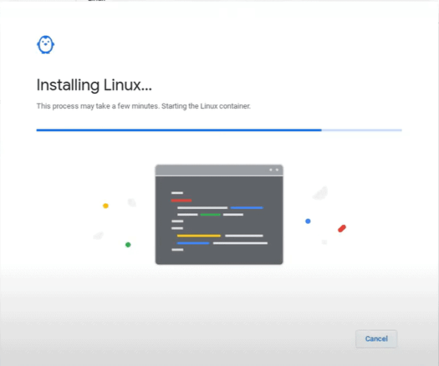 install linux chromebook