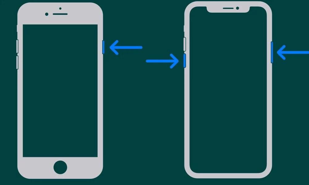 перезапустить iphone