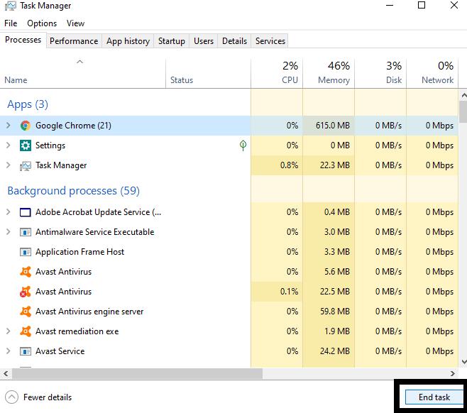 Исправить медленный жесткий диск на вашем Windows 10