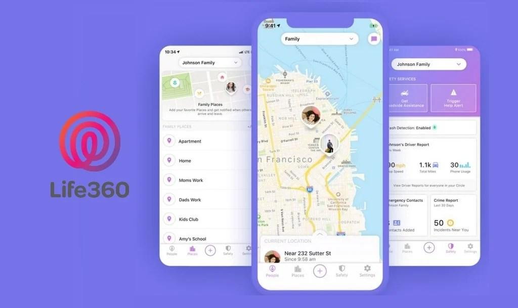 приложение life360