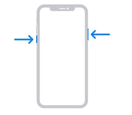 iphone'u yeniden başlat