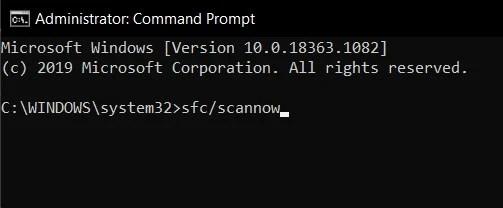 сканирование обновлений Windows