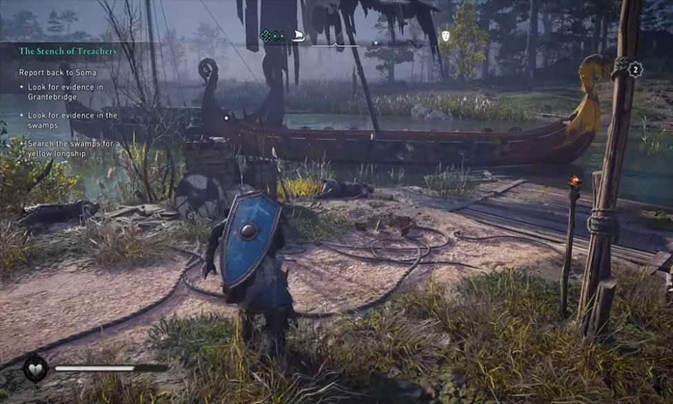Assassin's Creed Valhalla: Sarı Boyalı Uzun Gemi Nasıl Bulunur