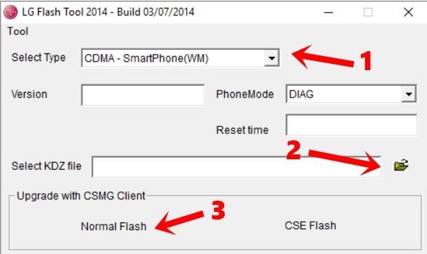 lg flash tool просмотреть файл