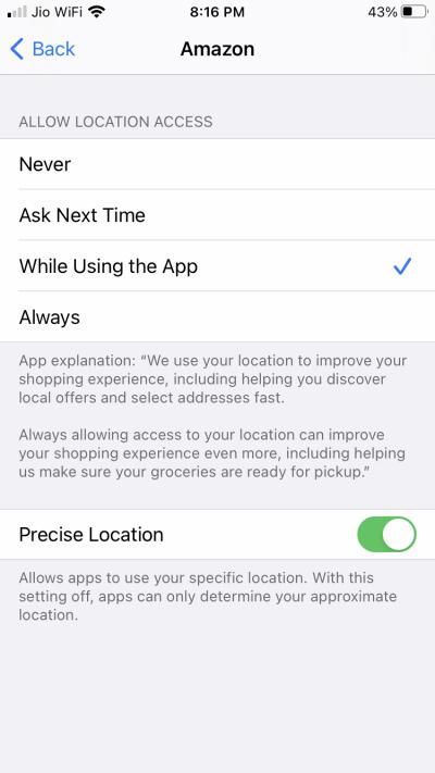 Как отключить отслеживание приложений на iPhone и iPad
