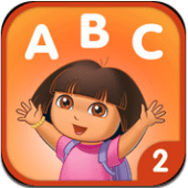 Dora ABCs Volume 2 is a great reading app for preschoolers and kindergarteners.